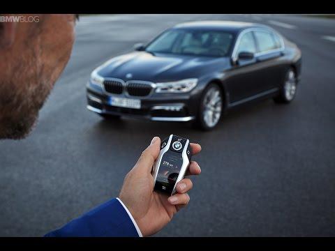 Автоматическая парковка BMW 7 серии G11/G12