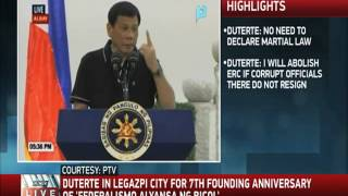 WATCH: Duterte jokes his P130K salary not enough for 2 families