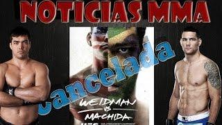 Chris Weidman sofre lesão no joelho e luta contra Lyoto Machida é remarcada para o UFC 175