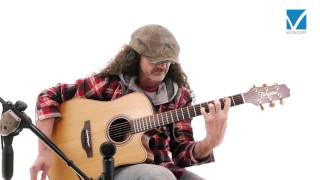 Takamine P3DC Acoustic Guitar Video Test
