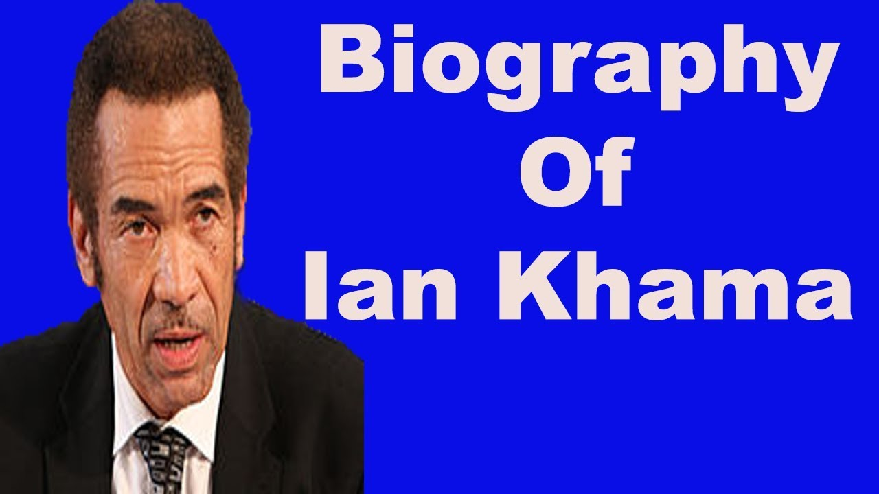 Biography of Ian Khama,Background,Achievements,Family - YouTube