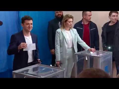 Вибори 2019. Зеленський проголосував у другому турі