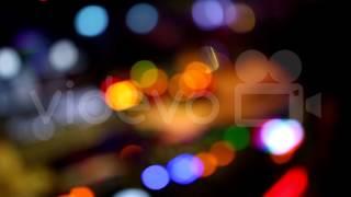 Blurred DJ With Bokeh - Free Stock Video Footage - Free Stock Videos at Videvo.net