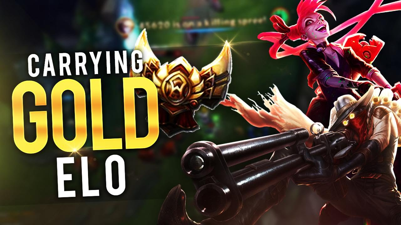 how to carry gold elo