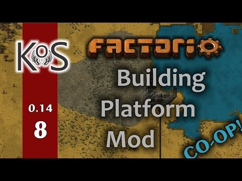 Factorio: Building Platform Mod - Co-op! Ep 8: Steel Furnaces - Showcase Multiplayer 0.14