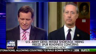 Repeat youtube video 20170309 - Chairman Thornberry joins Fox News to Talk Military Readiness