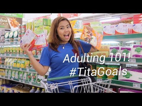WHAT'S ON MY GROCERY LIST HERE IN MANILA? (Shopping With Baninay 2018)
