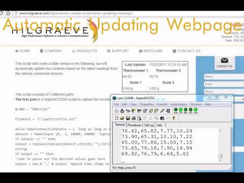 HyperACCESS Sample Scripts - Hilgraeve