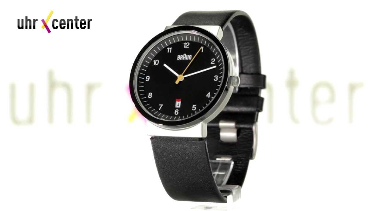 827192cf6ef7 Braun BN0032BKSLBKG Herren-Armbanduhr. uhrcenter