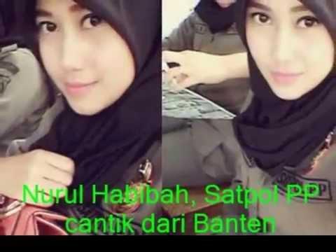 Koleksi foto selfi Nurul Habibah, Satpol PP cantik dari Banten