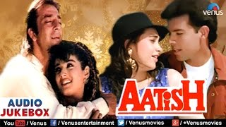 Aatish Audio Jukebox | Sanjay Dutt, Raveena Tandon, Karishma Kapoor |