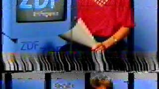 ZDF Programmansage Sibylle Nicolai (Video 2000)
