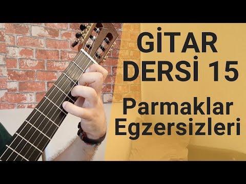 Gitarda Arpej Nasıl Çalınır Parmak Açma Egzersizleri |  Gitar Dersi 15