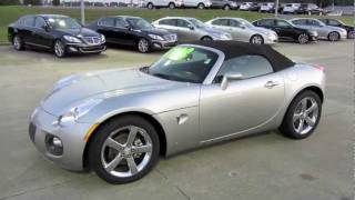 2007 Pontiac Solstice GXP Start Up, Exhaust, and In Depth Tour