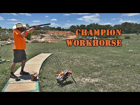 Automatic Trap Thrower 12V Electric Auto-Feed Clay Target Thrower Shooting