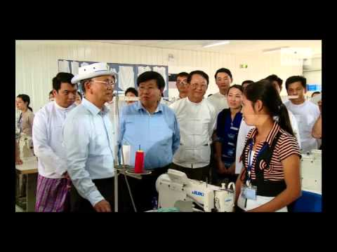 mitv - New Developments: President Inspects Housing Project, Industrial Zone