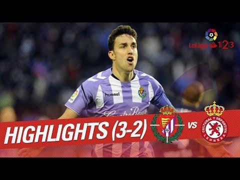 Resumen de Real Valladolid vs Cultural Leonesa (3-2)