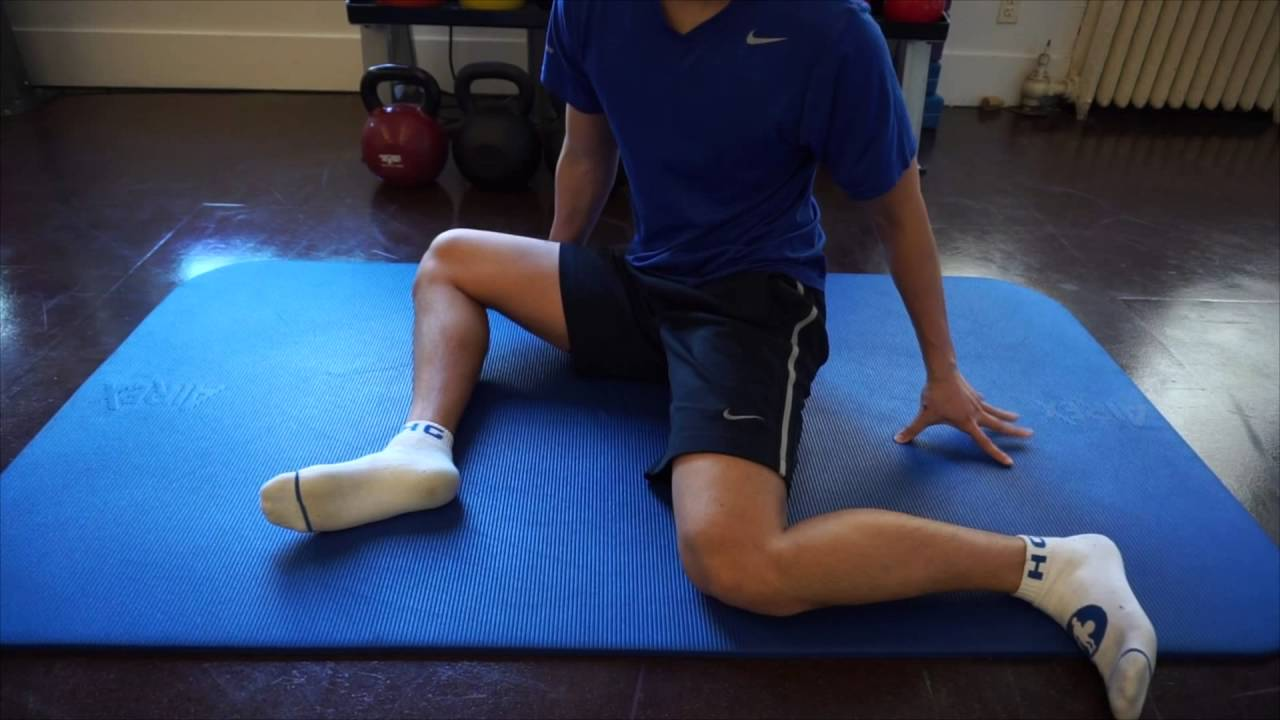 90 90 Hip Stretch Youtube
