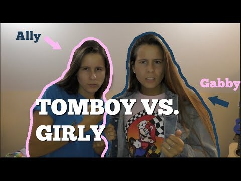 IDENTICAL TWINS SWITCH CLOTHES Girly vs Tomboy