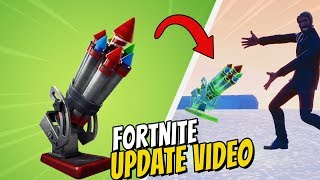 BESVIKEN PÅ FORTNITES NYA BOTTLE ROCKET UPDATE?! *FORTNITE PÅ SVENSKA*