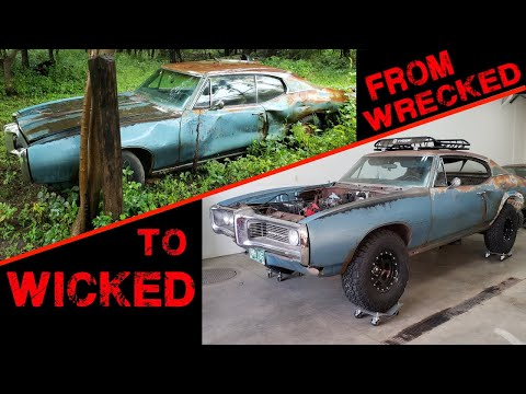 TOTALED Muscle Car Gets Another Chance at Life! LeMans Gambler 500 Build