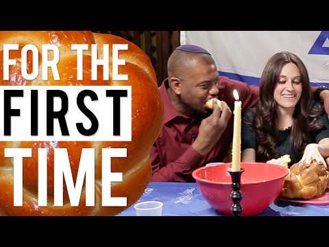 Black People Celebrate Shabbat 'For the First Time' ft. Teddy Ray & Slink Johnson