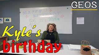 캐나다 워홀  _ Kyle's birthday …