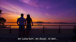 Németh Lehel – Reszket a Hold a tó vizén – Esperanto – subteksto