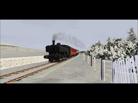 Winter at the Penaur RailwayTS2018