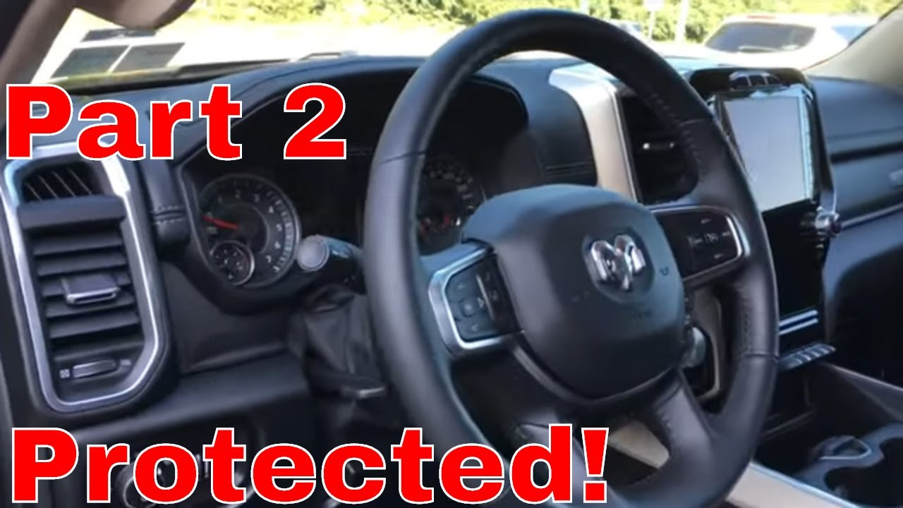 One Of The Most Intriguing Truck Interiors! The New Ram 1500 Laramie Interior Prep And Protect!Part2