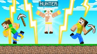 GOD Hunter VS Speedrunners! (Minecraft)