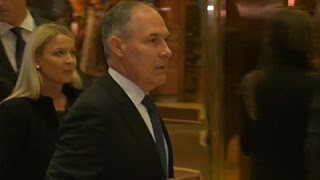 Trumps Expected EPA Pick Faces Opposition