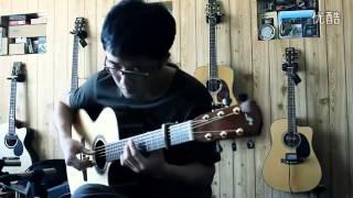 yun zshong shan paddy sun guitar cover