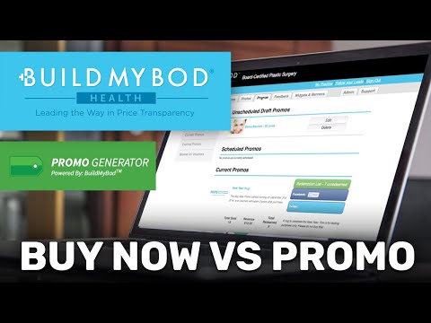 BuyNow vs Promos and how to create and schedule them