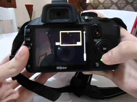 Burst mode Nikon D3100