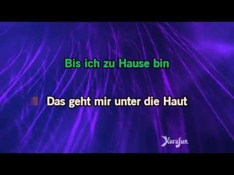 Karaoke Unter Die Haut - Tim Bendzko *