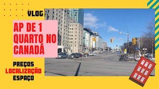 Apartamento de um quarto no Canadá: O que esperar? #morarnocanada #aluguelnocanada #onebedroom