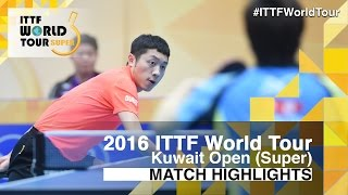 2016 Kuwait Open Highlights: Xu Xin vs Jun Mizutani (1/4)(This video was created by ttlondon2012 exclusively for the ITTF! Review all the highlights from the Xu Xin vs Jun Mizutani (1/4) from the Kuwait Open 2016 ..., 2016-03-19T22:33:56.000Z)