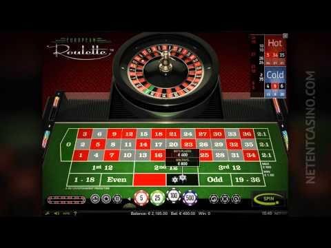 European Roulette By Netent Casino (Net Entertainment Software)