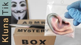 ASMR MYSTERY BOX FROM THE DARK WEB!!                            eating sounds, no talk