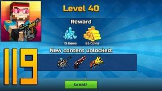 Pixel Gun 3D - Gameplay Walkthrough Part 119 - Level 40