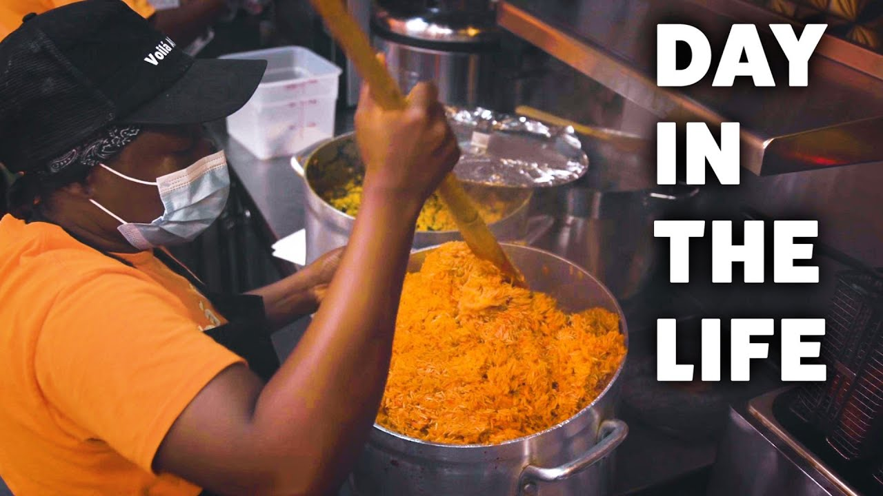 Day In The Life of a Ghanaian Master Chef
