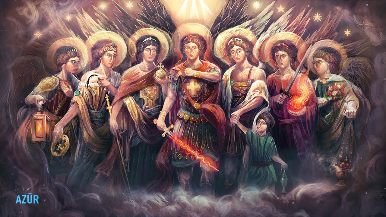 The Seven Archangels Miracle Healing With Theta Waves | 528 Hz