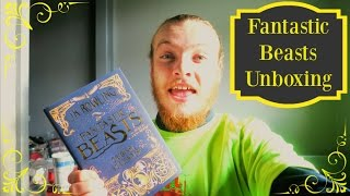 Fantastic Beasts and Where to Find Them Screenplay | Unboxing!
