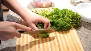 Salmon & Kale Salad- Healthy Dinner