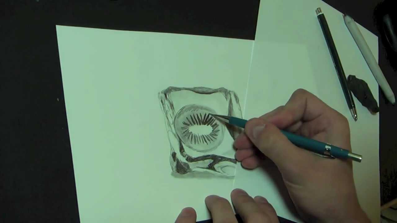 eisw rfel mit frucht lernen zu zeichnen online zeichen kurse youtube. Black Bedroom Furniture Sets. Home Design Ideas