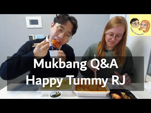 Mukbang Q&A│Happy Tummy