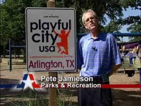 NEWS 7/13/09 - Arlington, TX - Playful City USA