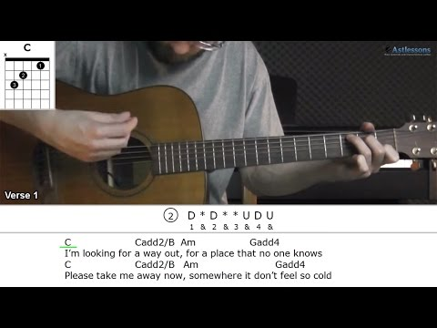 How to play Paradise with City And Colour (Guitar lesson)