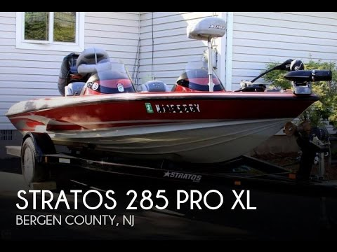 [SOLD] Used 2005 Stratos 285 Pro XL in Oakland, New Jersey